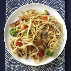Balsamic Chicken Fettucine