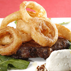 Citizen Steak with Blue Cheese Ice Cream