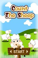 Screenshot of Count The Sheep