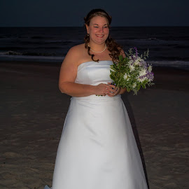 My beautiful daughter  now the new Mrs. Mike Dunn by Arlene Winters - Wedding Bride