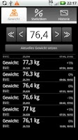 Screenshot of Droid Weight