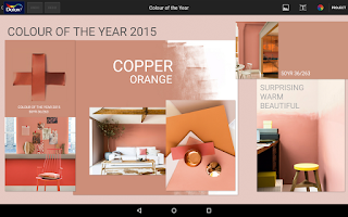 Screenshot of Dulux Colour Concept