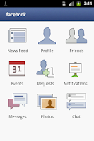 Screenshot of IM and Social