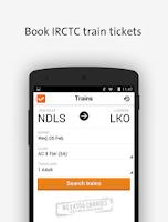 Screenshot of Cleartrip-Hotels Flights IRCTC