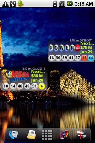 【免費個人化App】Androidlet Lottery Widget-APP點子