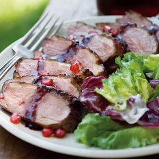 Duck Breast with Pomegranate Glaze
