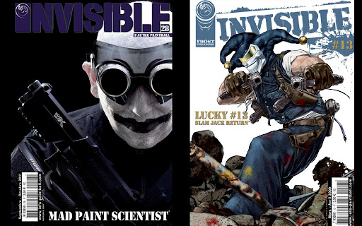 INVISIBLE Paintball Magazine