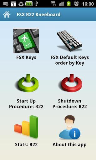 FSX R22 Kneeboard
