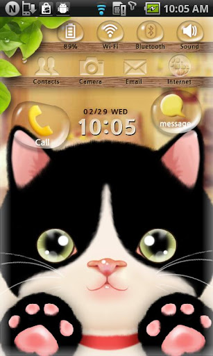 MXHome Cute Cat Theme