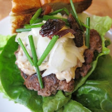 Duck Burgers With Pickled Fennel and Prune Mayonnaise