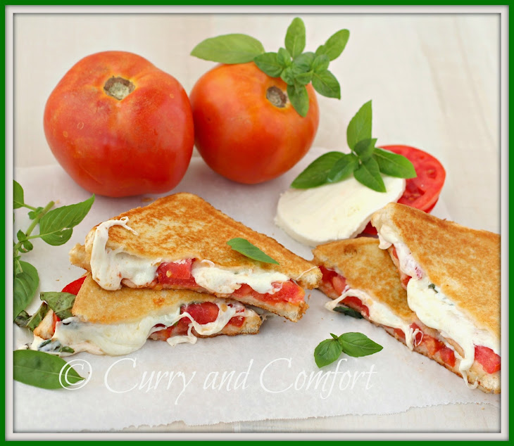 Caprese Grilled Cheese Sandwich Recipe | Yummly