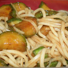 Stir-fried Zucchini With Hoisin Sauce