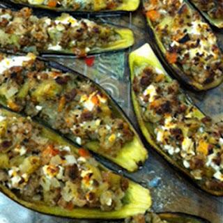 Greek Stuffed Eggplant Feta Recipes
