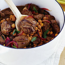 Spiced Lamb With Chickpeas