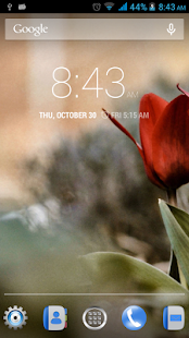 Blossoms Live Wallpaper - screenshot