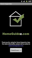 Screenshot of Home Inspection App