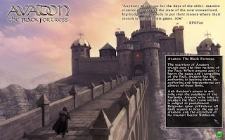 Screenshot of Demo Avadon The Black Fortress