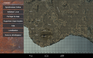 Screenshot of Rust Map