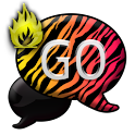 GO SMS THEME/FireZebra icon