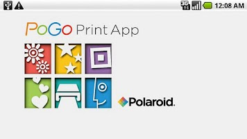 Screenshot of Polaroid PoGo Print App