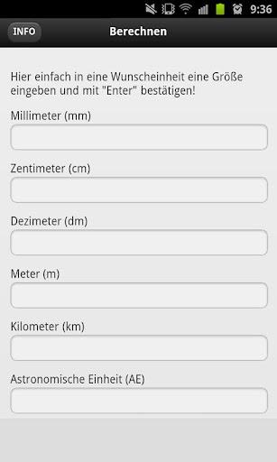 單位轉換器的長度