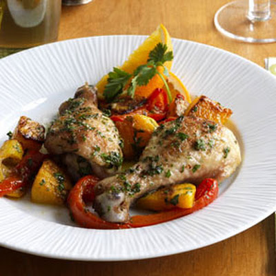 Cuban Chicken and Vegetables
