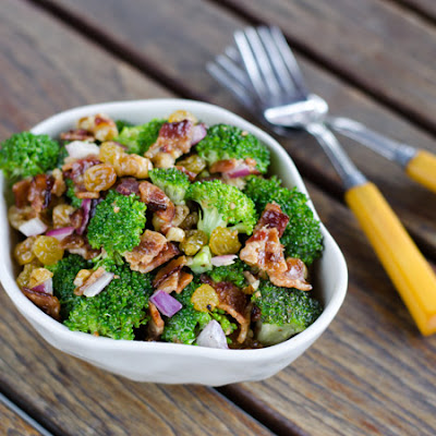 Paleo Broccoli Salad with Bacon