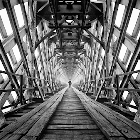 long way by M Salim Bhayangkara - Buildings & Architecture Bridges & Suspended Structures