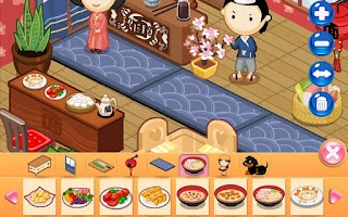 Screenshot of Design Sushi Shop