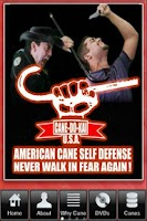 Screenshot of American Cane Self Defense