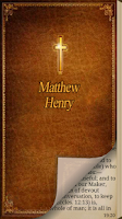 Screenshot of Matthew Henry Bible Commentary