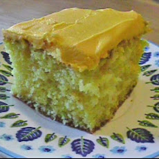 Yellow Lemony Cake