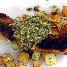 Pan-Seared Shad Roe with a Brown Butter Sauce