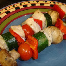 Herb Chicken Vegetable Kabobs