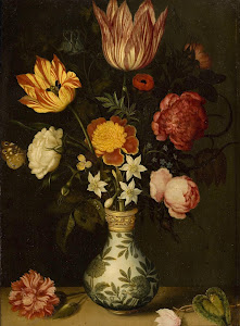 RIJKS: Ambrosius Bosschaert: painting 1619