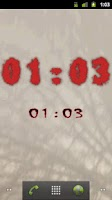 Screenshot of Horror Digital Clock Free