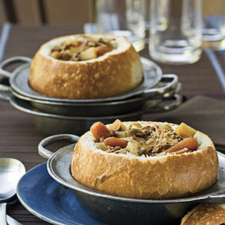 Toasted Bread Bowls