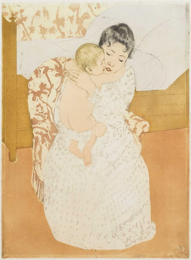The subject of motherhood runs the course of art history, from the Madonna and child paintings of the Renaissance . . .
