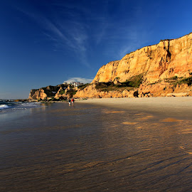 Hiking  by Gil Reis - Landscapes Beaches ( sand, nature, holidays, summer, sea, travel, portugal, people, hiking )