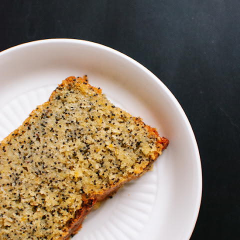 Orange Poppy Seed Pound Cake