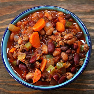 Three Bean & Beef Chili