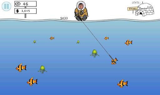 Ice Water Fishing