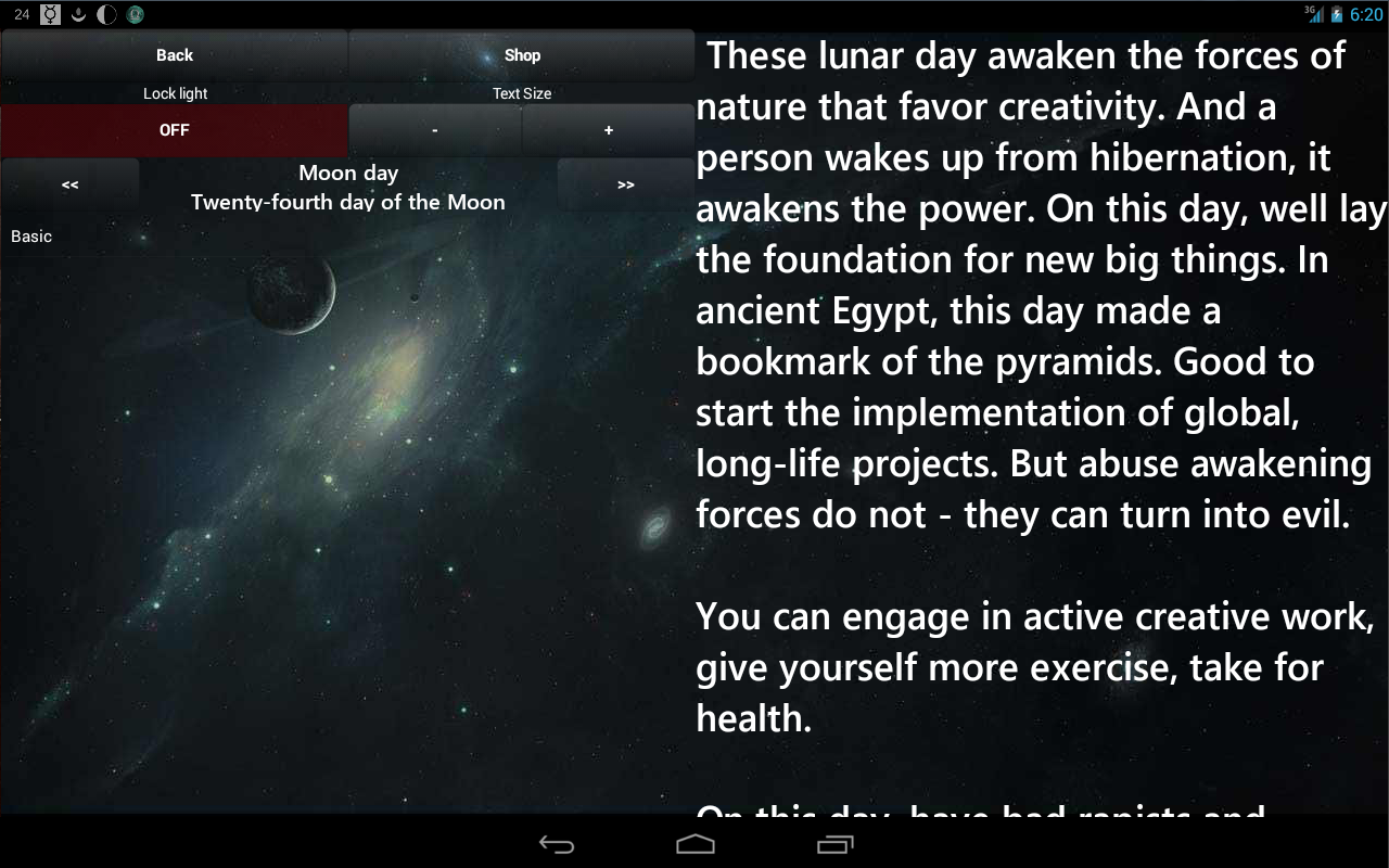 Lunar Calendar Screenshot 12