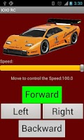 Screenshot of RC Bluetooth Remote Control