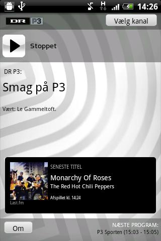 dr-radio for android screenshot