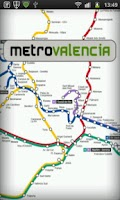 Screenshot of Metro Valencia