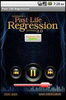 Screenshot of Past Life Hypnosis Software