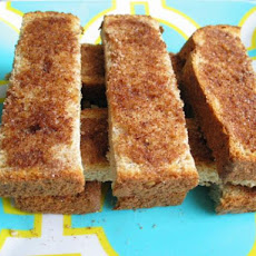 Cinnamon Sugar Toast Strips