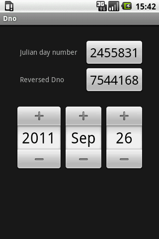Julian day number