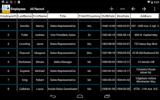 Screenshot of SQLite Manager Pro